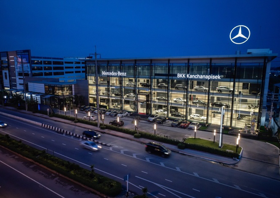 Mercedes benz showroom, Ratchaphruek